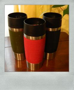 Travel Mug Isolierbecher in drei Farben
